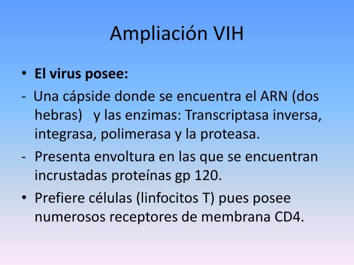 Ampliación VIH