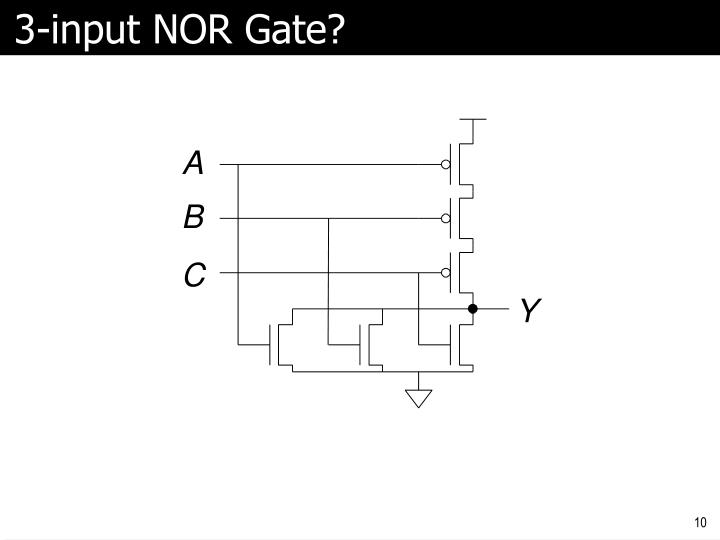 3-input NOR Gate?