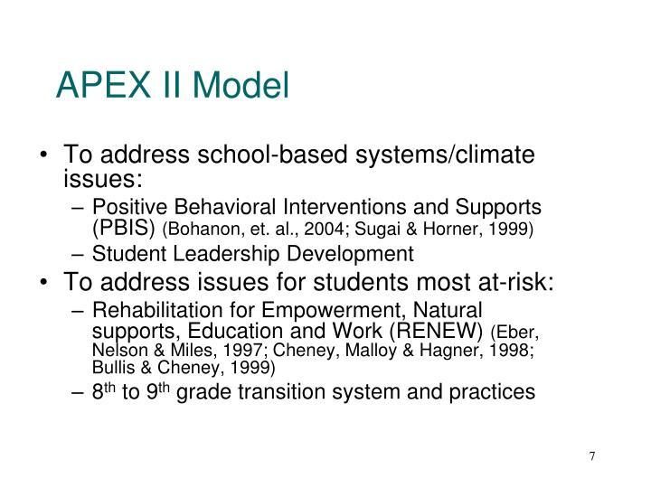 APEX II Model