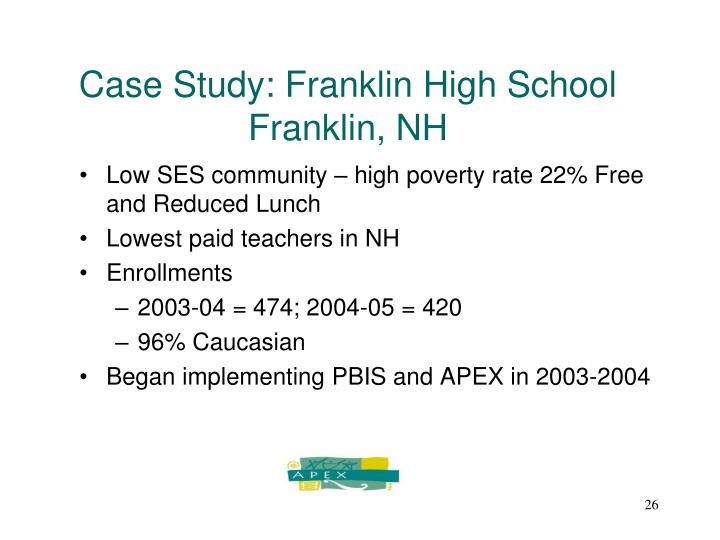 Case Study: Franklin High School