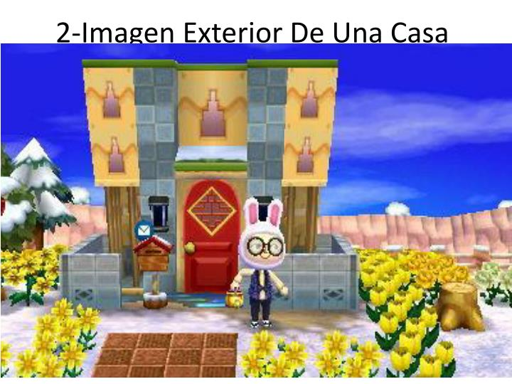 2-Imagen Exterior De Una Casa