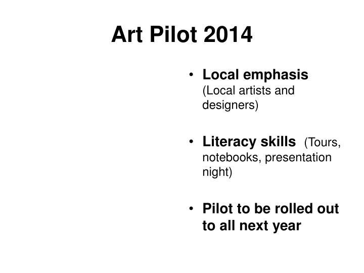 Art Pilot 2014