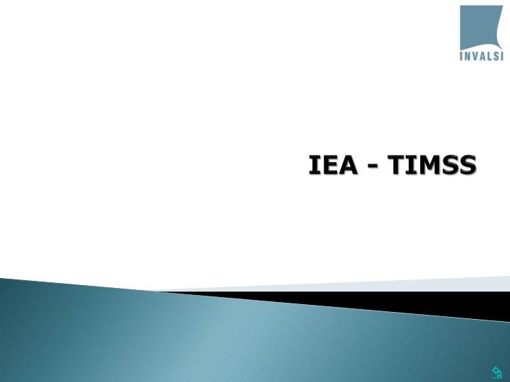 IEA - TIMSS