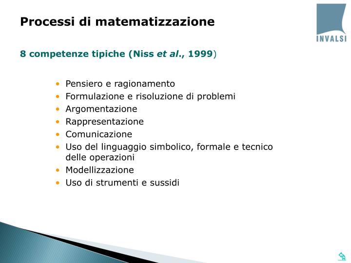 Processi di matematizzazione