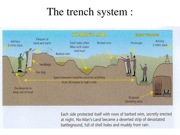 The trench system :