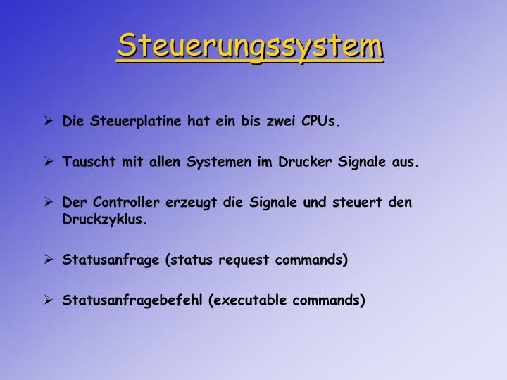 Steuerungssystem