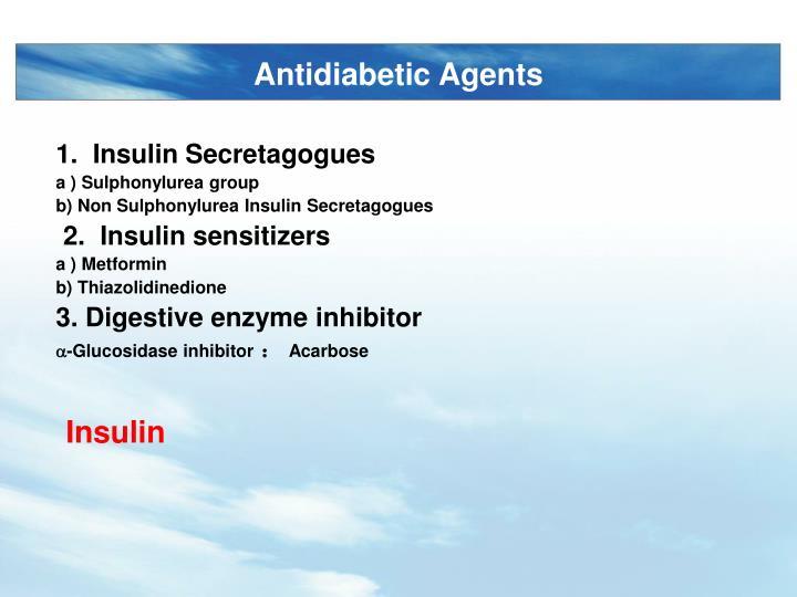Antidiabetic Agents