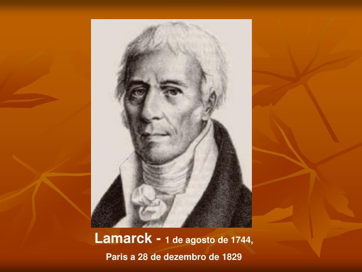 Lamarck -