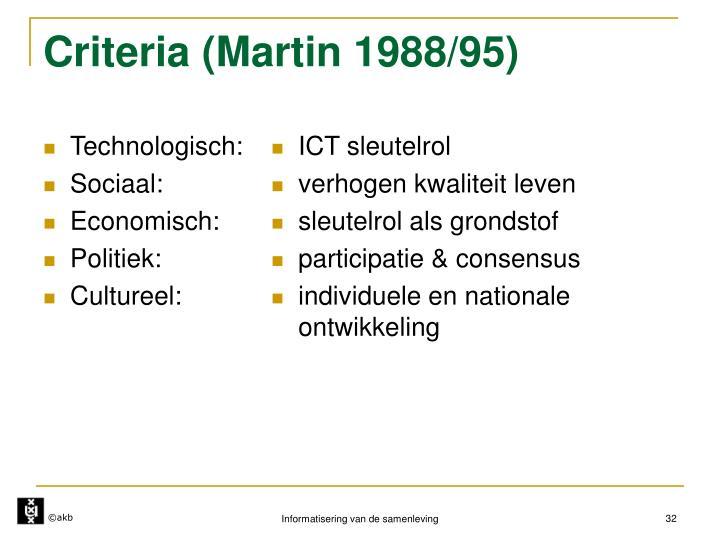 Technologisch: