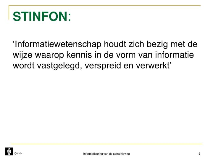 STINFON