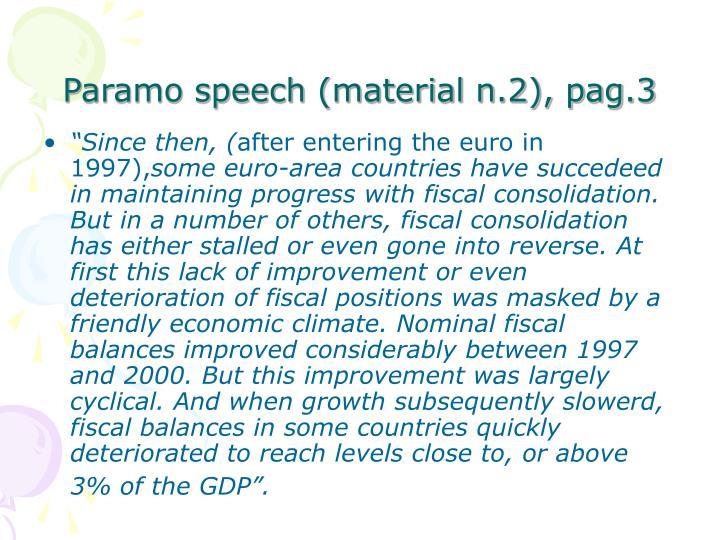 Paramo speech (material n.2), pag.3
