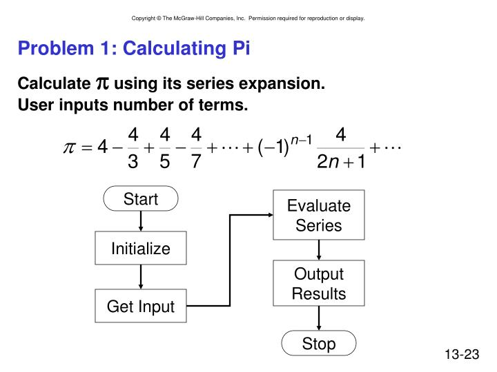 Problem 1: Calculating
