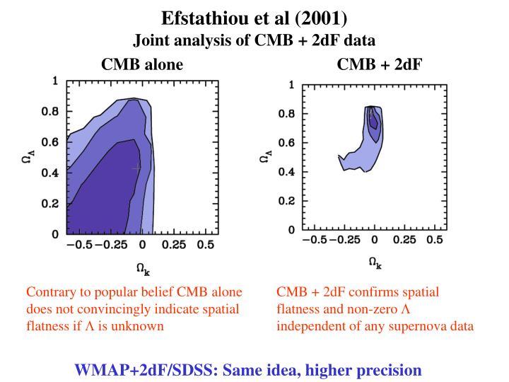 Efstathiou et al (2001)