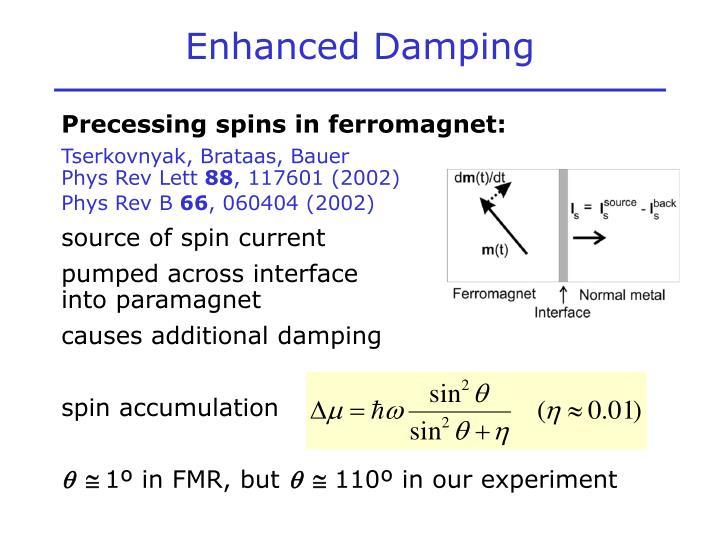 Enhanced Damping