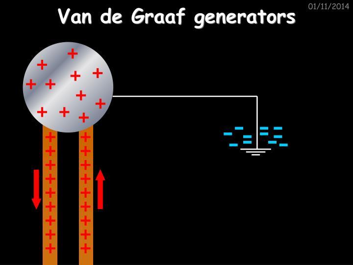 Van de Graaf generators
