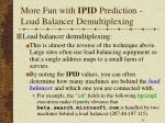 more fun with ipid prediction load balancer demultiplexing