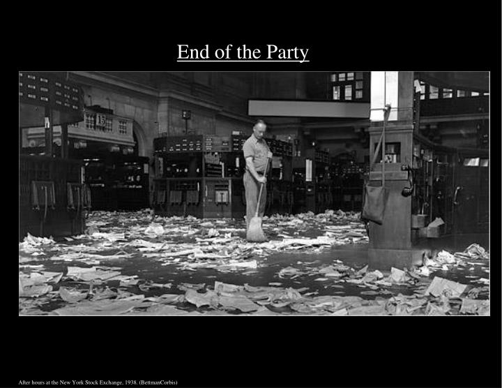 End of the Party