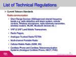 list of technical regulations2