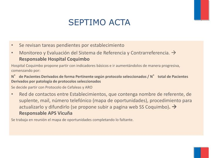 SEPTIMO ACTA