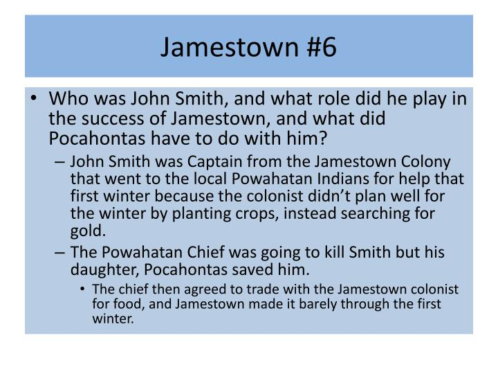Jamestown #6