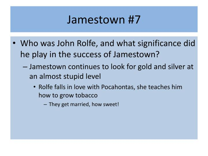 Jamestown #7