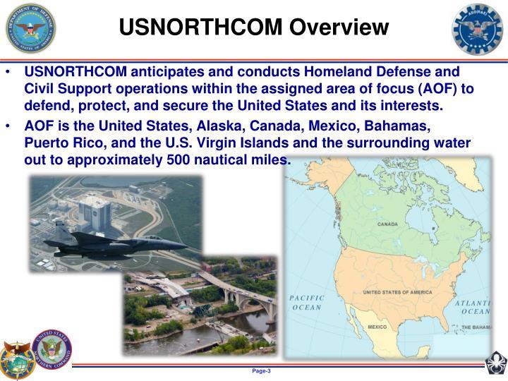 USNORTHCOM Overview