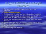 a typical wrf run on midnight overview1