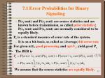 7 1 error probabilities for binary signaling4