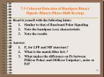 7 3 coherent detection of bandpass binary signals binary phase shift keying