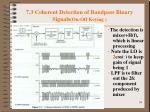 7 3 coherent detection of bandpass binary signals on off keying