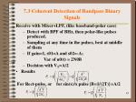 7 3 coherent detection of bandpass binary signals2