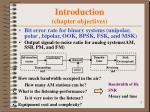 introduction chapter objectives