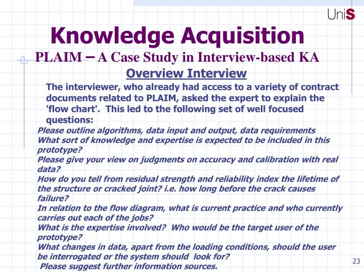 Knowledge Acquisition