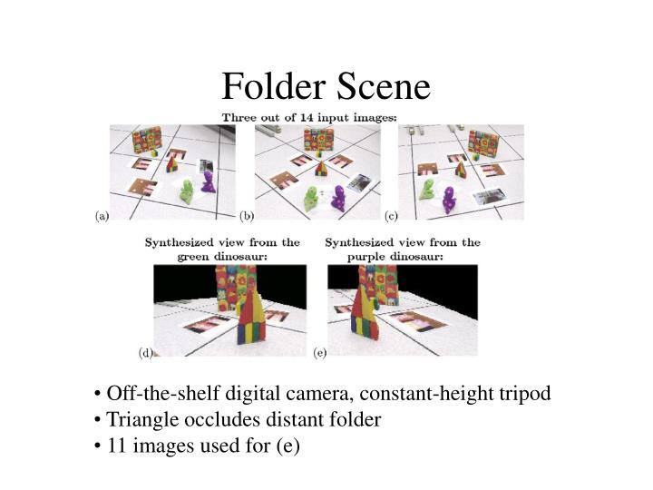 Folder Scene