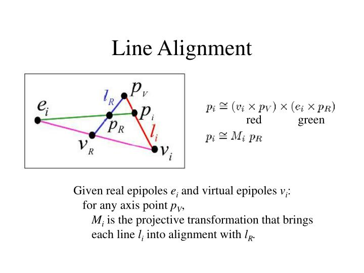Line Alignment