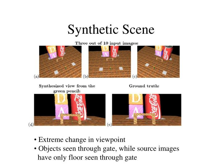 Synthetic Scene