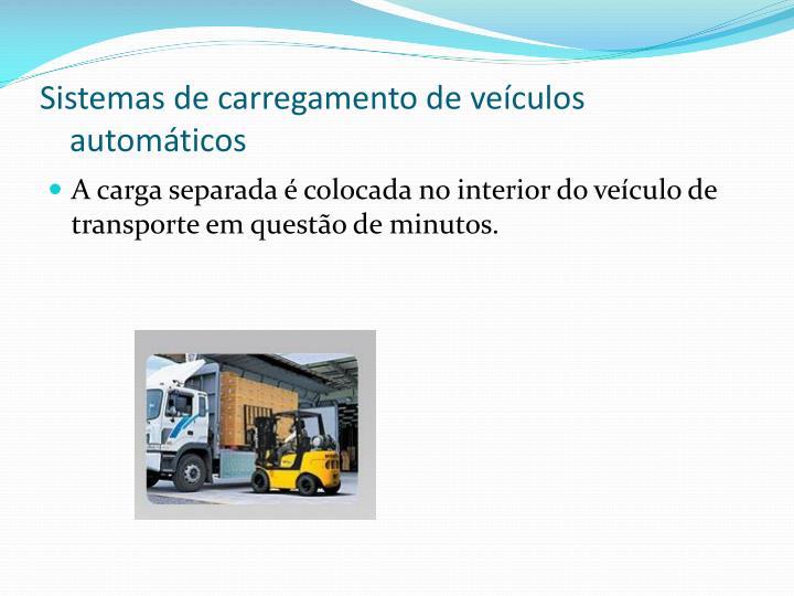 Sistemas de carregamento de veículos automáticos