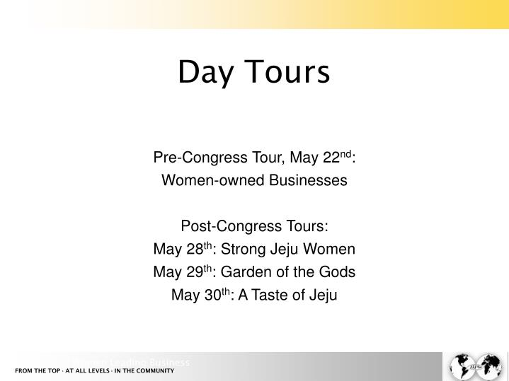 Day Tours