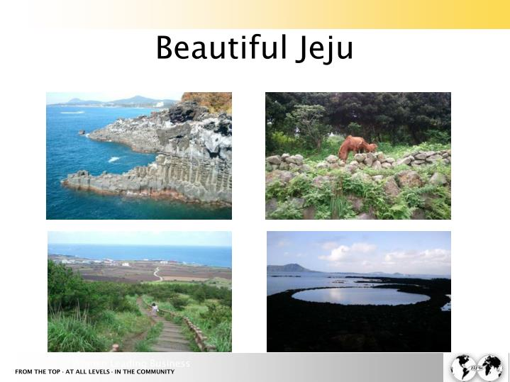 Beautiful Jeju