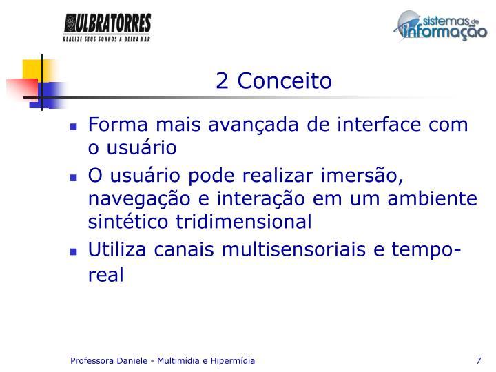 2 Conceito