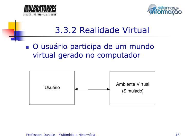 3.3.2 Realidade Virtual
