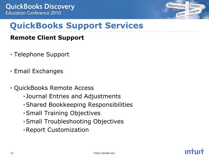 QuickBooks Support Services