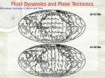 fluid dynamics and plate tectonics