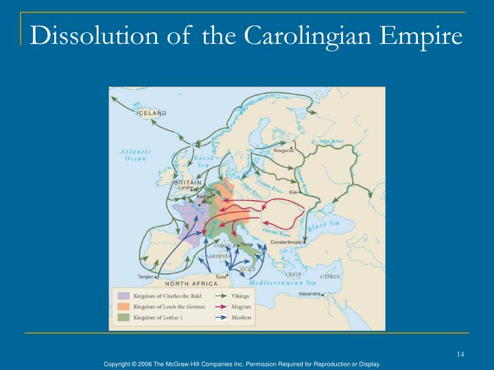 Dissolution of the Carolingian Empire