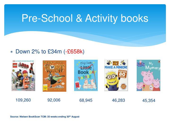Pre-School & Activity books