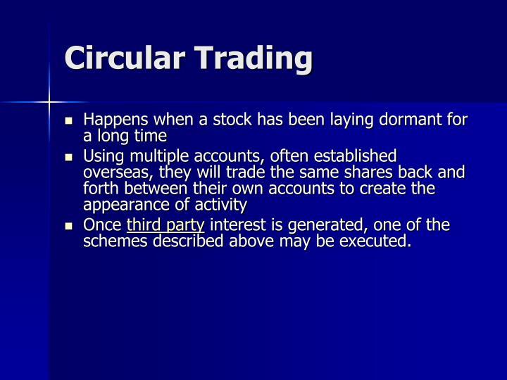 Circular Trading