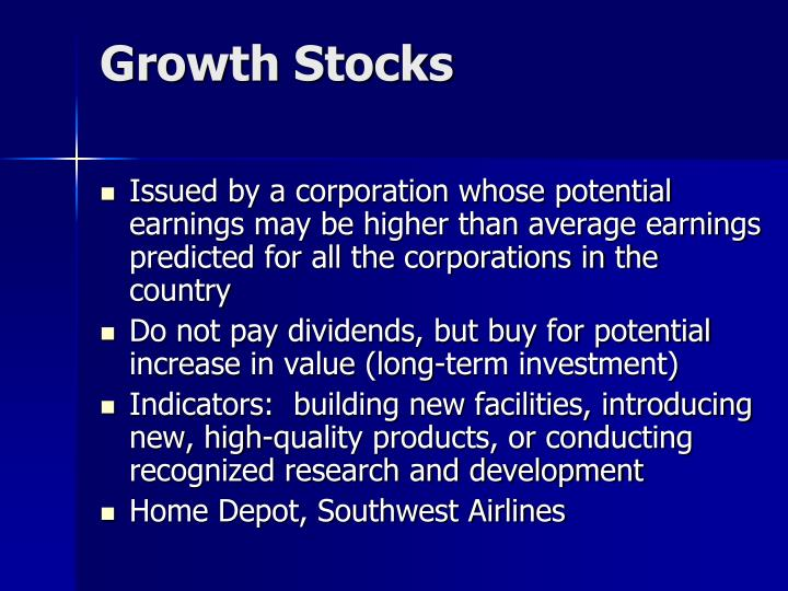 Growth Stocks