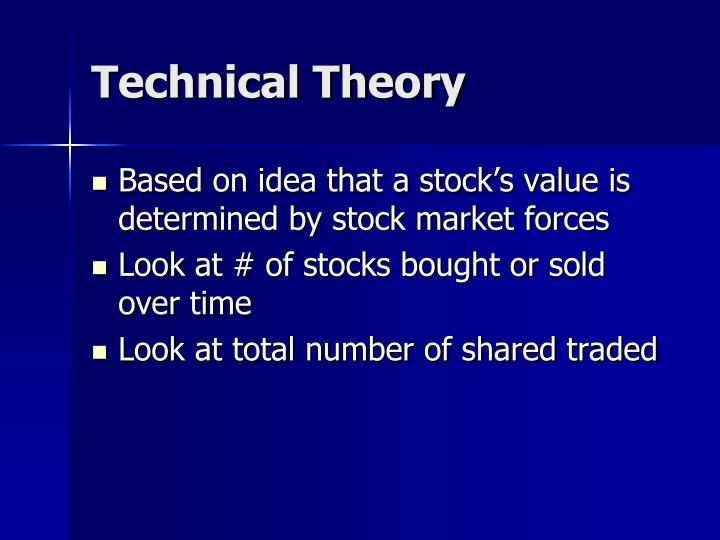Technical Theory