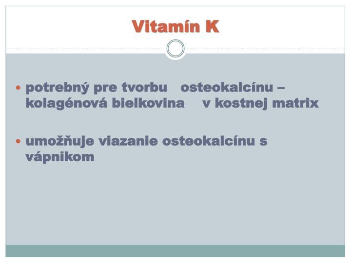 Vitamín K
