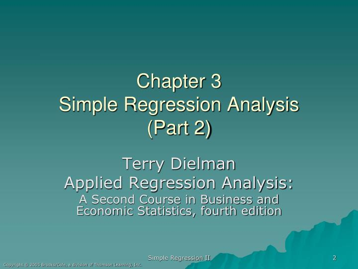Chapter 3 simple regression analysis part 2
